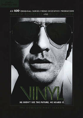 VINYL THE COMPLETE FIRST SEASON 1 - DVD 4-DISC SET (Blu-ray) NO DIGITAL