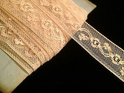 Per 1 yard Antique Lace French Victorian Edwardian Dolls Costume