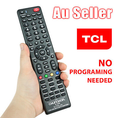 TCL Smart TV Universal NO PROGRAMMING 3D HDTV LED LCD Remote Control Controller