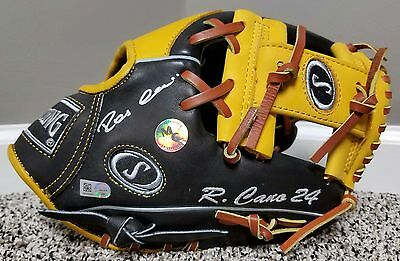 """Robinson Cano Game Issued Style Autographed Spalding 11.5"""" Fielding Glove MLB"""