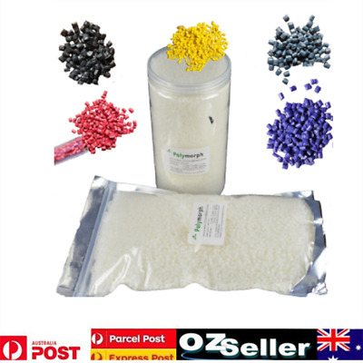 1Kg Polymorph DIY mouldable plastic pellets Beads melt at 62°C Polycaprolactone