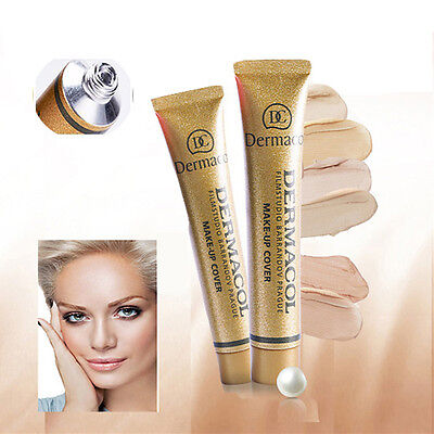 Womens Concealer Cream Primer Base Cover Foundation Liquid Beauty Makeup