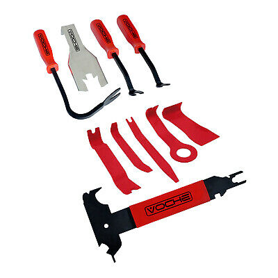 Voche/® 19 Piece Car Upholstery Clip Door Panel /& Trim Removal Tool Kit
