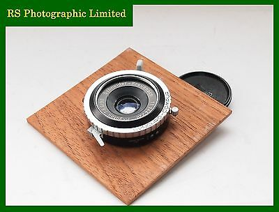 Schneider-Kreuznach Angulon 90mm F6.8 Lens with Board. Stock No U7383