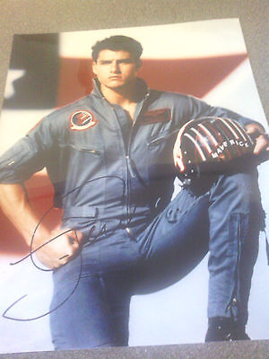 "Tom Cruise ""TOP GUN"" Maverick - Signed Colour 10"" x 8"""