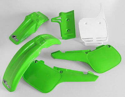 Kawasaki KX 60 1984 - 2004 Motocross MX UFO Full Plastic Kit
