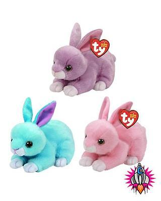 Ty Beanie Boo Babies Plush Soft Toy Easter 2017 Bunny Walker Dash Jumper Rabbits