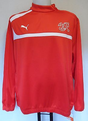 Switzerland Red Training Top By Puma Adults Size Xl Brand New With Tags