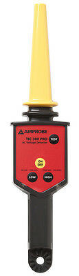 Amprobe TIC 300 PRO High Voltage Detector for Low and Medium Voltage up to 122KV