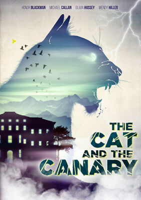 The Cat and the Canary DVD (2017) Honor Blackman ***NEW***
