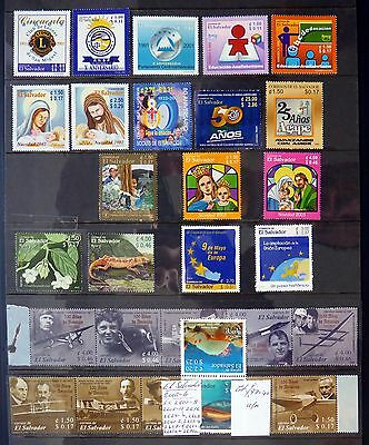 EL SALVADOR 2002/4 Collection Cat £97 U/M NB237