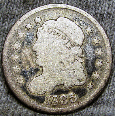 1835 Capped Bust Half Dime ---- TYPE COIN ---- #X002