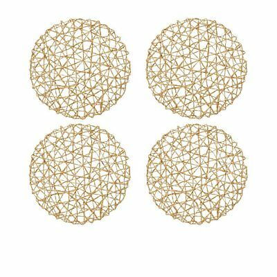 NEW Amalfi Panette Duo Placemat 35cm Set of 4 Natural