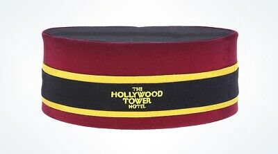 Disney Parks Hollywood Tower Hotel Bellhop Hat New with Tags
