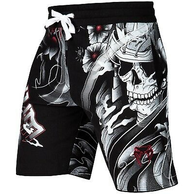 Venum Training Shorts Samurai Skull schwarz black S M L XL 2XL MMA Muay Thai Gym