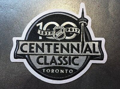 2017 NHL Centennial Classic Game Patch Toronto Maple Leafs Vs Detroit Red Wings