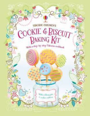 Children's Cookie and Biscuit Baking Kit by Abigail Wheatley (Kit)