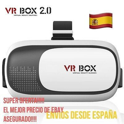 Gafas De Realidad Virtual 3D VR BOX 2.0 IPHONE ANDROID