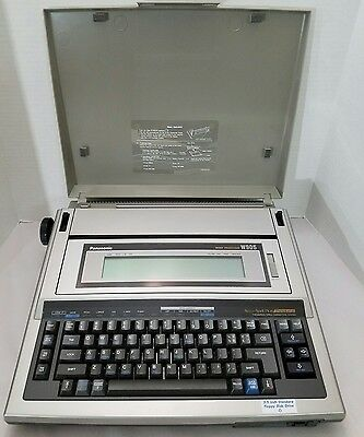 Panasonic Word Processor Electric Typewriter Kx-W905 Floppy Disk  Works