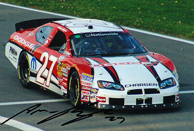 Andrew Ranger Signed 8X12 Inches Nascar Nationwide Photo
