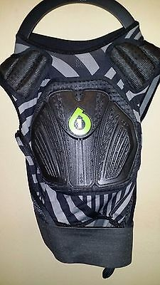 SixSixOne 661 Core Saver Front Chest and Back Protector Youth One Size ATV MX