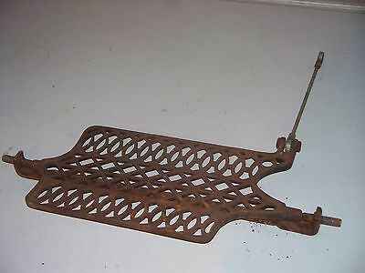 """Antique """"national"""" Cast Iron Treadle Sewing Machine Part Pedal Foot Only"""