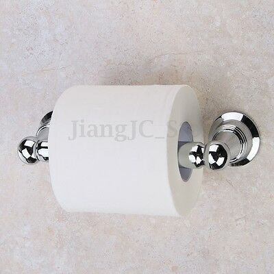Adjustable Toilet Paper Roll Holder Stainless Steel Tissue Rack Wall Mounted AU