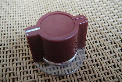 Burgundy Marconi API Type Skirted Pedal Knob For Neve 1073 1080 1081 Effects DIY