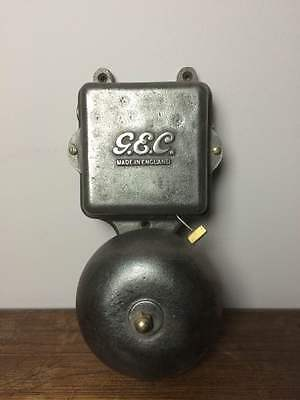 Vintage Factory Industrial Gec Electric Door Fire Garage Shop Bell