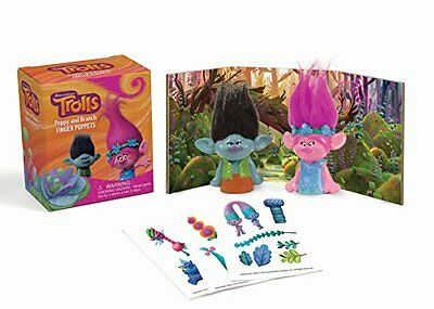 Trolls: Poppy and Branch Finger Puppets Copertina rigida