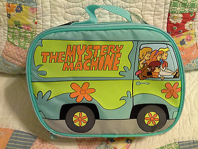 """New With Tags! Scooby Doo """"the Mystery Machine"""" Thermos Lunch Bag With Handle"""