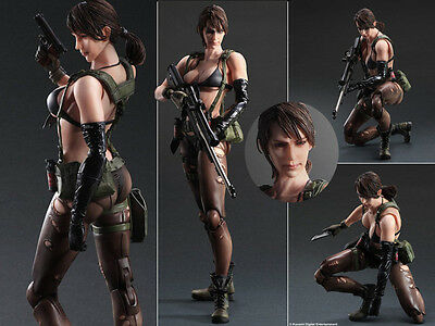 Play Arts Kai Metal Gear Solid V The Phantom Pain Quiet Action Figur 27cm No Box