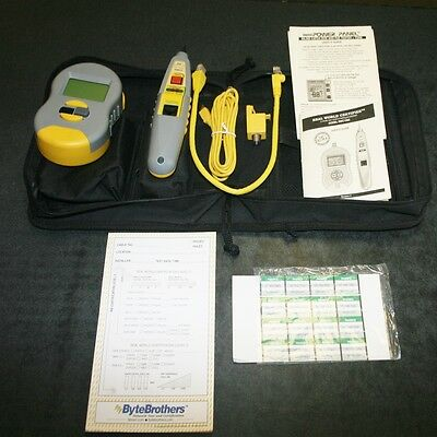 Byte Brothers Real World Network Certifier Kit #rwc1000 - Exc Condition!!