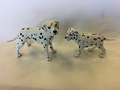 Safari collectible figurines Dalmatian And Her Puppy