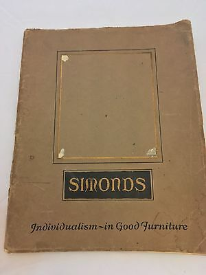 Elgin A Simonds Furniture Catalogue No. 35