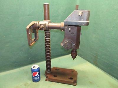 Good Vintage AMT American Machine & Tool Co. Model #2532 Pivoting Drill Press