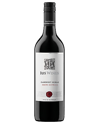 IUS Wines Cabernet Shiraz case of 12 Dry Red Wine 750mL Limestone Coast