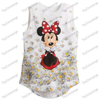 DISNEY Store TANK TEE for Girls MINNIE Mouse Tank T Shirt PICK Size NWT