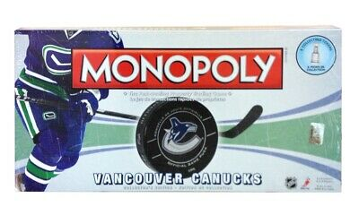 Monopoly: Vancouver Canucks NHL Collector's Edition Board Game