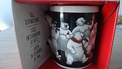 Collectible 1996 Gibson Coca Cola Polar Bear Mug NEW 16 oz. in Box NOS