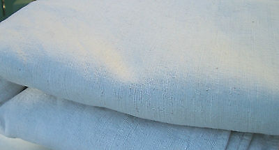 Yardage Antique Vintage French Fabric pure Chanvre hemp Dowry linen 1790s