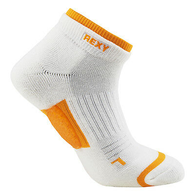Rexy women Functional Balance arrow mesh golf low cut Socks  GF6L-11 yellow gift