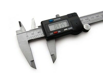 "6"" 150mm Stainless Steel Electronic Digital Vernier Caliper Micrometer Guage i"