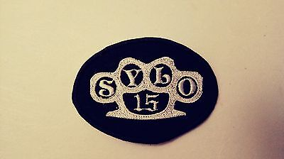 Outlaws Motorcycle Club Support Brass Knuckle Patch. HARLEY  Outlaws MC 1%er