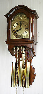 Westminster Ams Fhs Hermle  Wall Clock Cuppercarved Dial