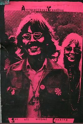 Want to BUY: George Harrison Beatles Blacklight Poster