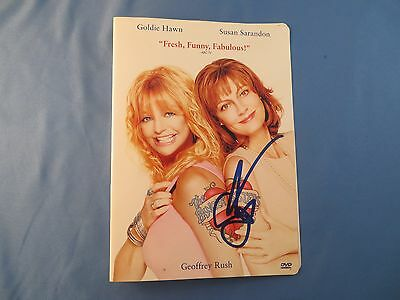 Susan Sarandon Signed The Banger Sisters DVD Cover BSC COA Autograph Goldie Hawn