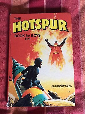Hotspur The Book For Boys 1975 Good Condition