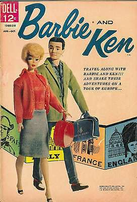 Barbie And Ken #2 (12-053-210) (1962) Photocopy Comic Book - Dell Comics