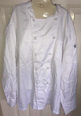 Chef Works Professional Chef/Cook Coat 3XL NEW CKWECC-WHT-3XL (Women's)